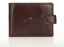 HASSION classic billfold money bag for men made by cow leather