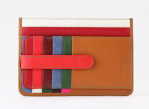 HASSION middle card holder with money pocket can be  customised