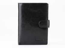 Dr.koffer high quality Italy leather passport holder with money pocket for men